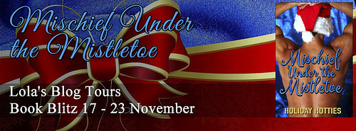 Mischief Under the Mistletoe banner